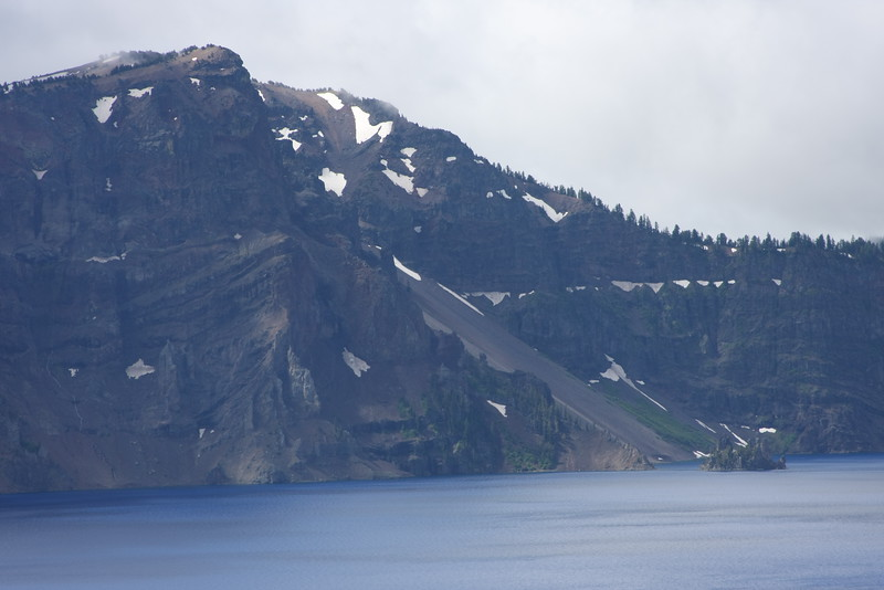 The Phantom ship without the telephoto lens, and some of the surrounding cliff face.