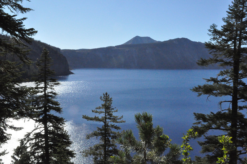 Crater Lake from Cleetwood Trail