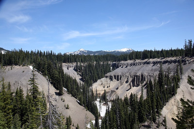 Fossil Fumaroles at Annies Creek on the way into Carter Lake