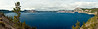 Crater Lake Pano 1<br /> <br /> Photo by Dennis