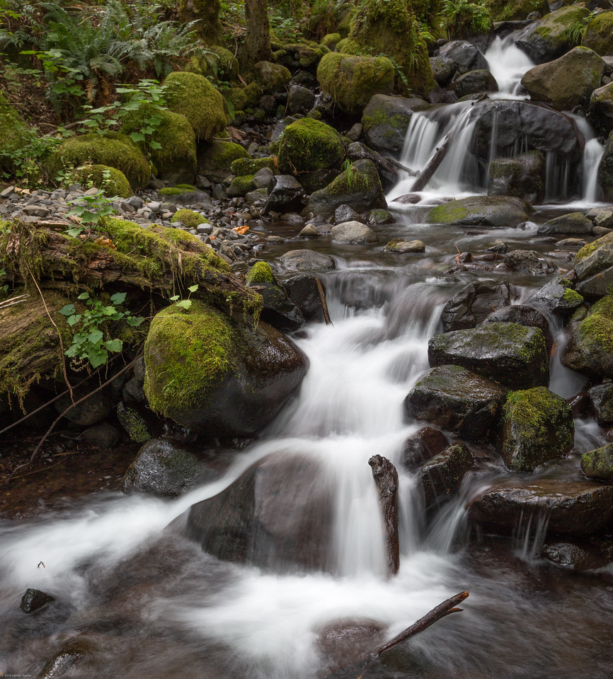 Dry Creek Waterfall