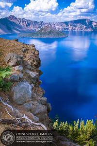 Crater Lake Garfield Peak Trail View