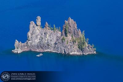 Crater Lake's Phantom Ship