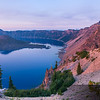 Crater Lake Sunrise - HD-Panorama (9,876 x4938 pixels/300dpi)