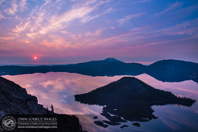 Crater Lake Sunrise - Sunday, August 17, 2014 at 6:29 AM