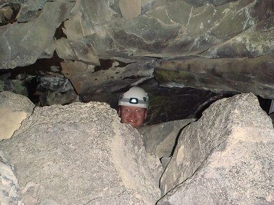 Michal spelunking