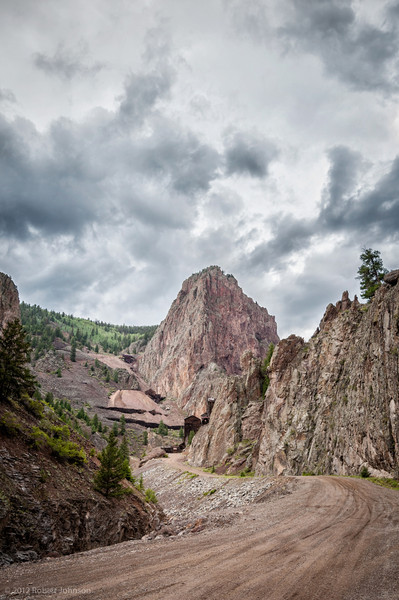 Bachelor and Commodore Mines, West Willow Creek Canyon, near Creede, Colorado
