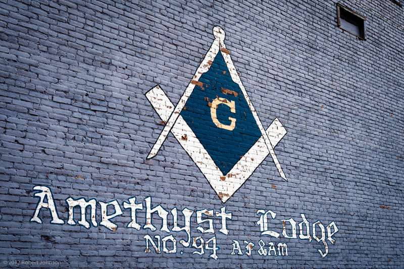 Amethyst Lodge #94<br /> AF&AM Masonic Lodge in Creede, Colorado