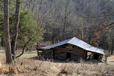 Villinines homestead, Ponca access, Buffalo National River. Arkansas, February 2009.
