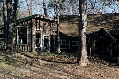Creeks End Retreat near Parthenon, Arkansas, February 2009.