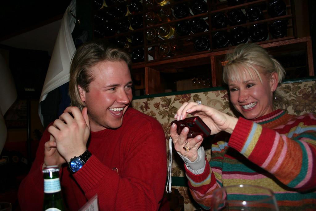 Good times at Garlic Mikes, Almont, Colorado