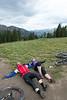Tired at 11,300 feet.