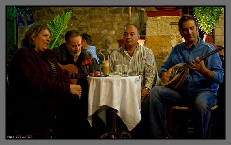 Café performance <br /> Chania