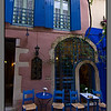 Blue and pink<br /> Chania
