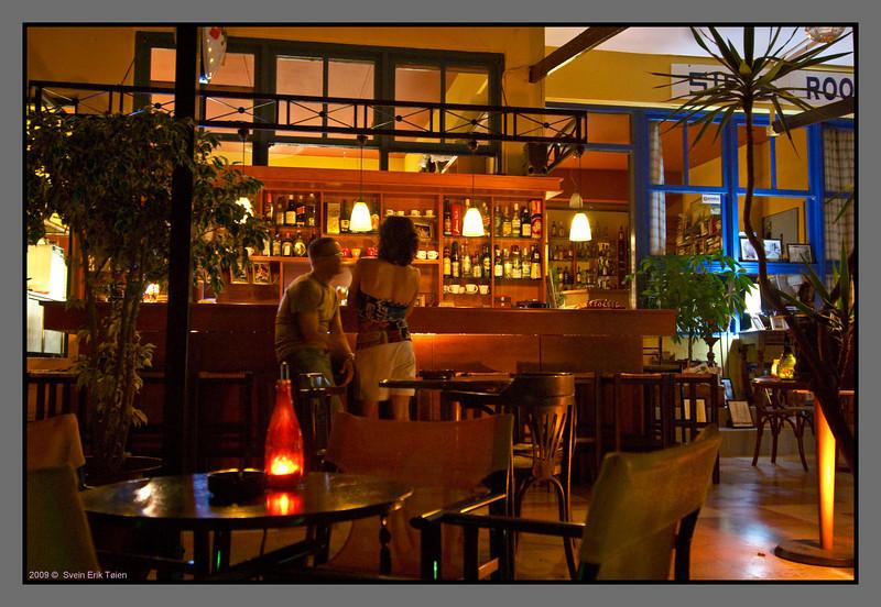 Colourful night - III  <br /> Cristinas Cafe