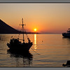 Sunrise at Loutro harbour