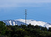 Lefka Ori - the White Mountains - looming behind the hills above Kato Stalos