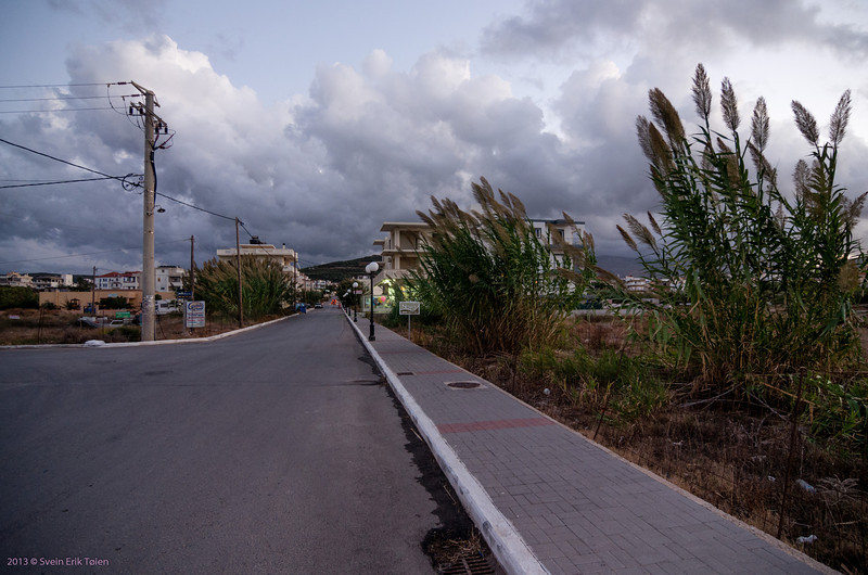 Lows with wind rolling in, Kissamos