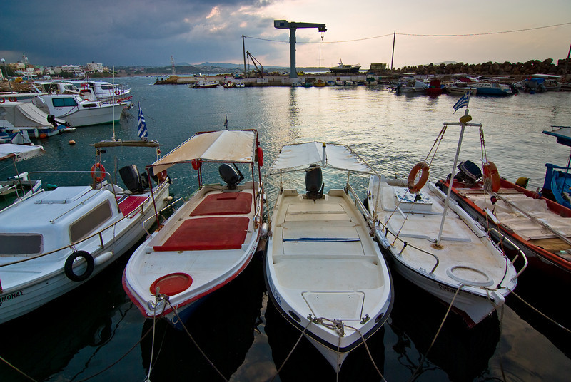 Fishing boats, Chaina harbour