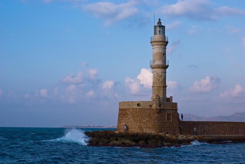 The old Venetian lighthouse, Chania