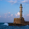 The old Venetian lighthouse, Chania