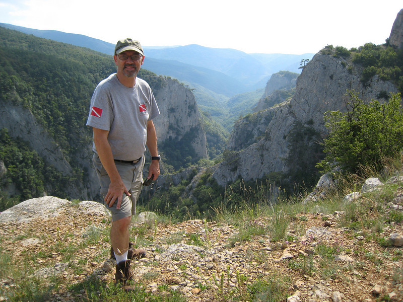 "Clay at the ""Grand Canyon of Ukraine"""