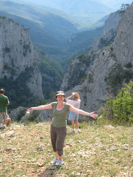 "Crimea - the ""Grand Canyon of Ukraine"" - Dr. Sharon Bain expresses her joy"
