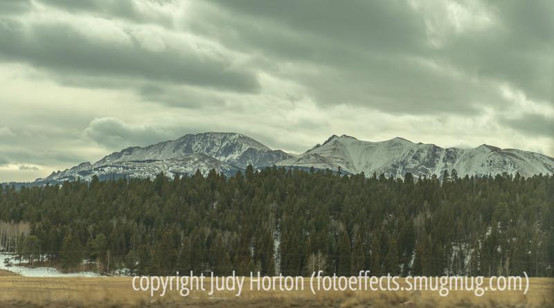 Back Side of Pike's Peak