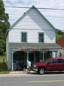 Thrift store, Marion, MD