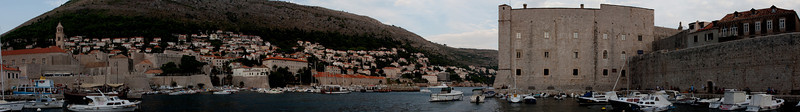 Old harbor and St. Ivan Fortress, Dubrovnik, Croatia