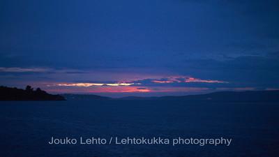 Auringonlasku - Sunset. Mali Drvenik