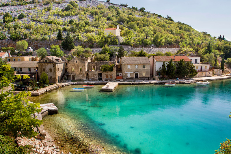 croatian coastal town aug 2015