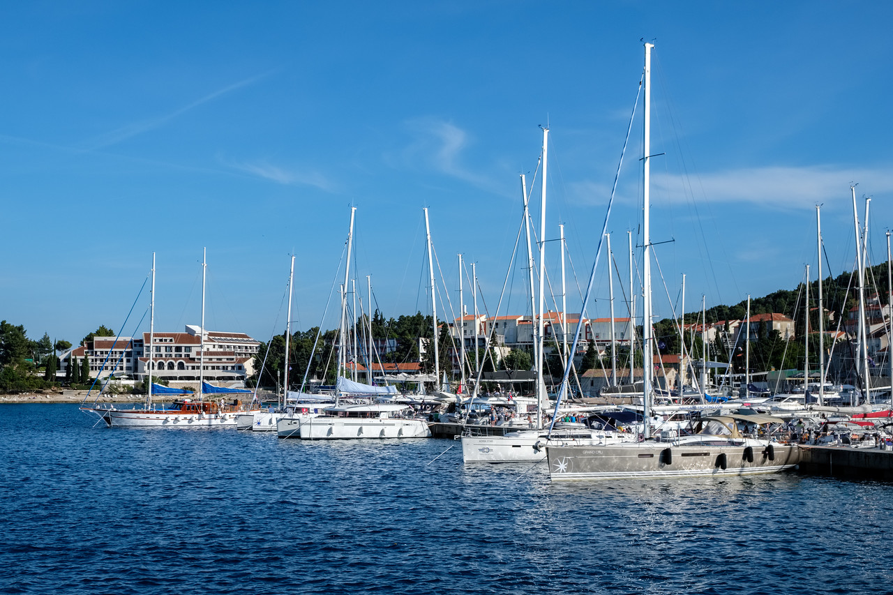 Marina of Korcula.
