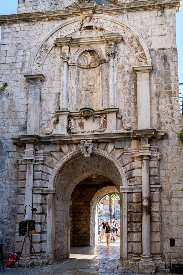 City gate of Korcula
