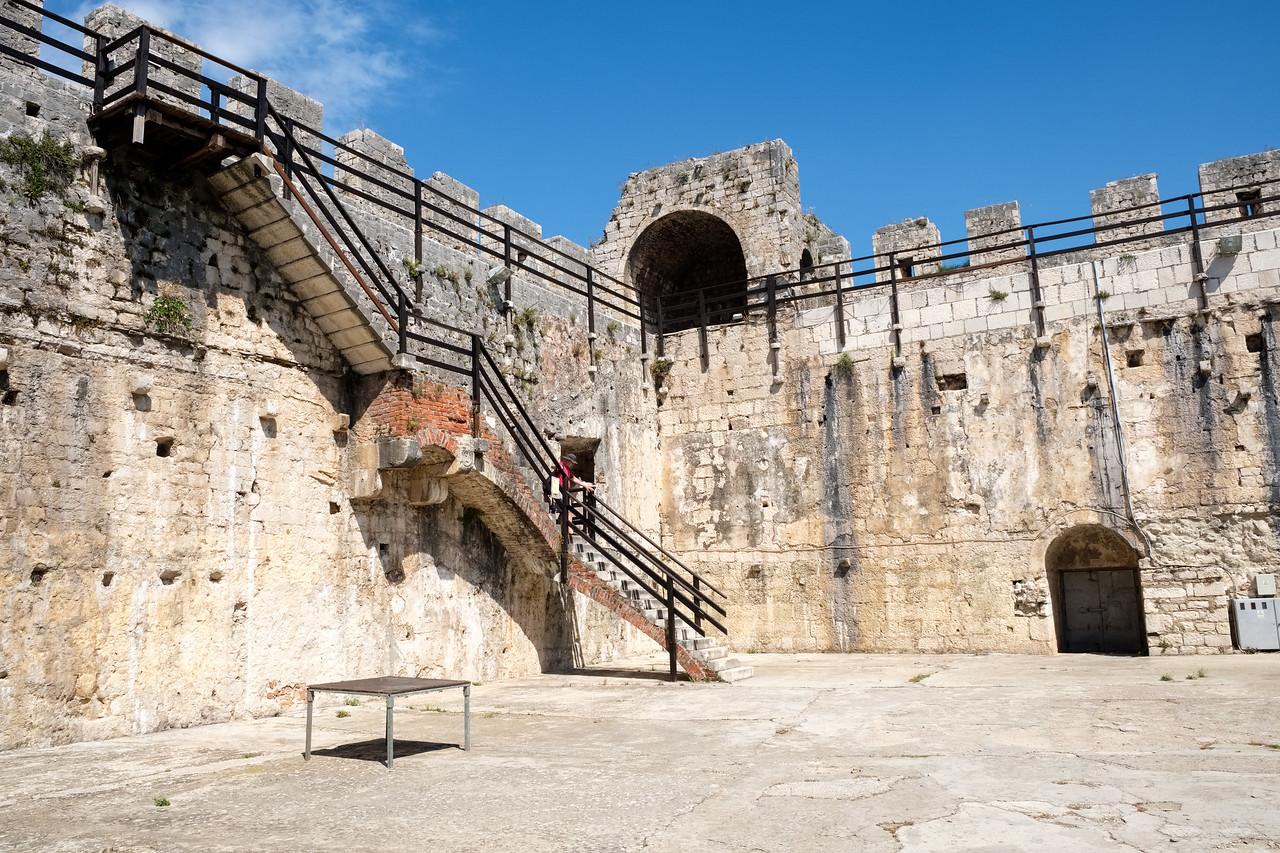 Kamerlengo Castle in Trogir
