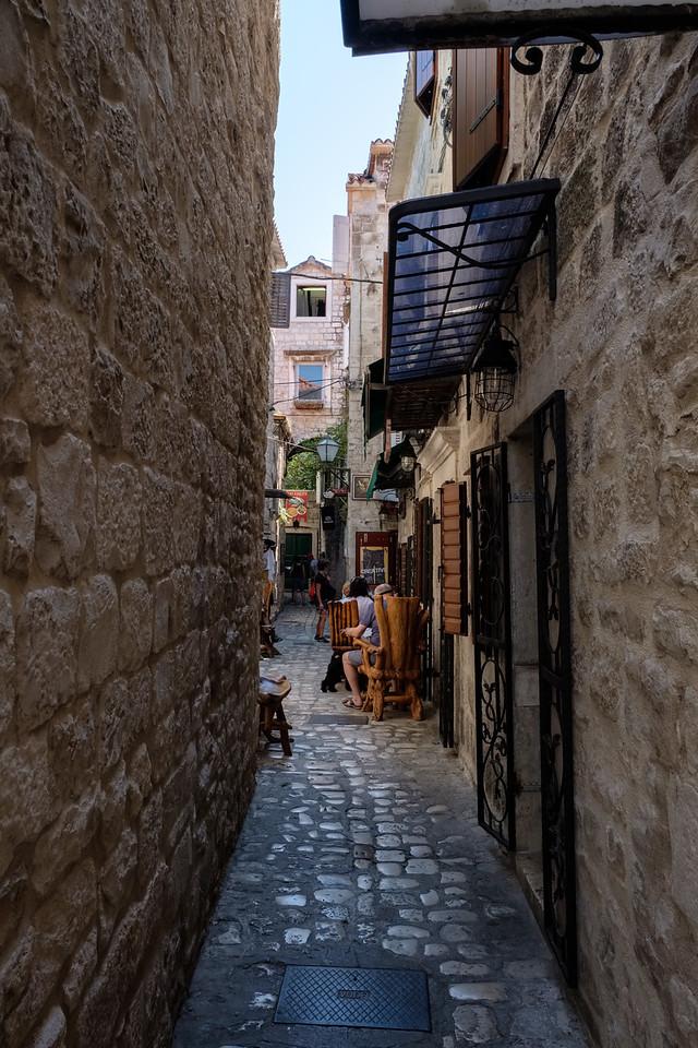 Narrow streets of Trogir