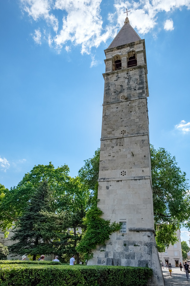 Bell tower outside the palace
