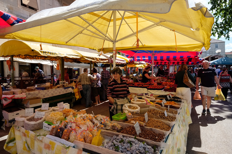 The market outside Diocletian's Palace