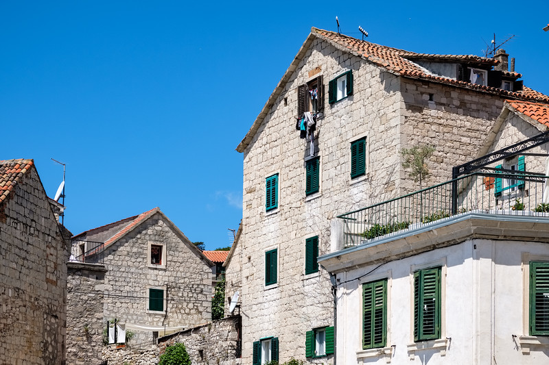 House in Split outside the Palace