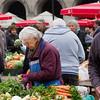 A vendor in the market