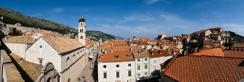 Panorama of old city