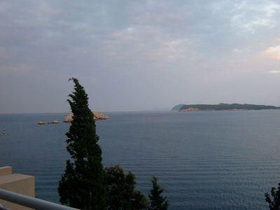 Croatia: view fr Dubrovnik hotel