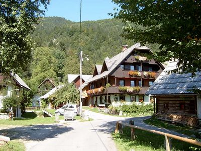 Solvenia Bohinji Lake & Village