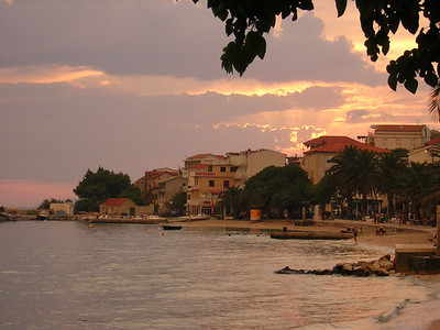 Gradac after a thundershower