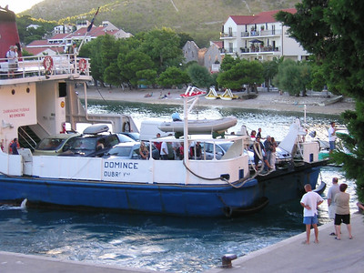 ferries leave from Drvenik for the islands of Hvar and Korcula