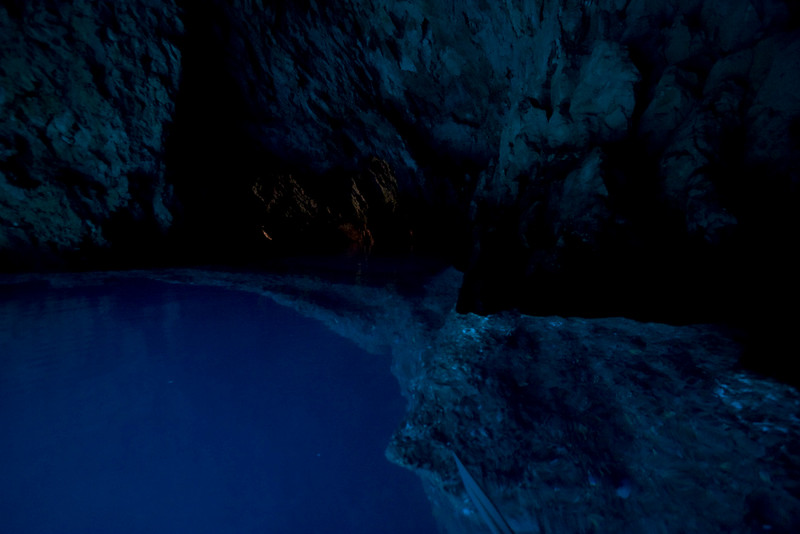 underwater arches inside the cave