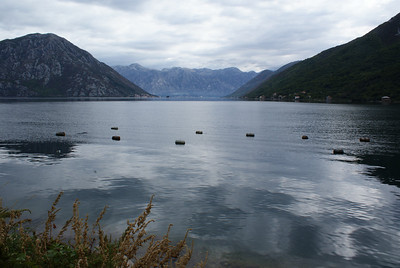 Bay of Kotor, Montenegro.  Beautiful.  Don't go.