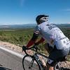 Back in Croatia rolling along the ridge crest looking back toward Herzegovina