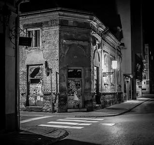 A Night Walk In Slavonski Brod, November 2015