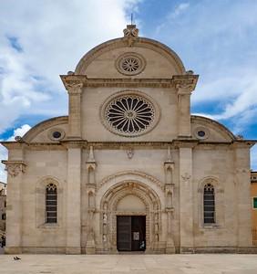 Sibenik...the main church